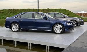 Audi A8 замена гофр и резонаторов
