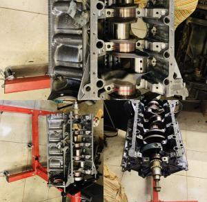 Капитальный ремонт M62 B46 на X5 e53 4.6is