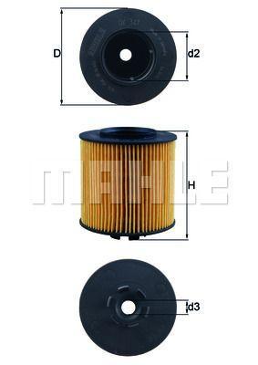 Купить Фильтр масляный AUDI A3 (KNECHT)