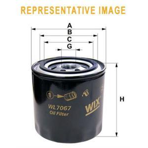 Купить Фильтр масляный ВАЗ 2101-07, 2121-21213-21214-2129 (WIX-Filtron)