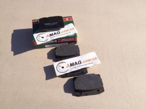 Купить Колодки тормозные ВАЗ 2101-07 передние (зеленые) (Ferodo)