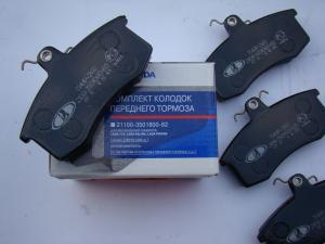 Купить колодки тормозные ВАЗ 2108-099 перед. (АВТОВАЗ)