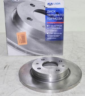 Купить Передние тормозные диски ВАЗ 2108 (АвтоВАЗ)
