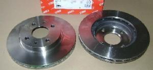Купить тормозные диски ВАЗ 2110 вентилируемые (R13) TRW