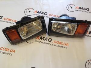 Купить Фара перед. правая ВАЗ 2104-05-07 с желтым поворотником (Руденск)