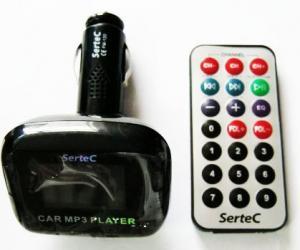 Купить FM модулятор SERTEC ST-FM120 с пультом