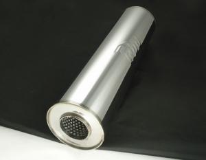Глушитель круглый однокамерный, сторона-сторона (140*400 мм)