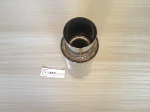 Купить Глушитель полированный с насадкой (прямой край)