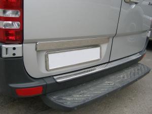 Купить Хромированные накладки на задний бампер Mercedes Sprinter 901