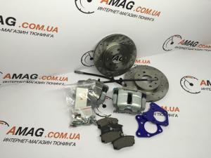 Купить Кит-комплект передних вентилируемых тормозов на ВАЗ