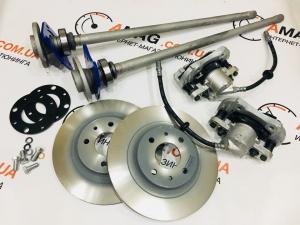 Купить Кит-комплект задних дисковых тормозов на ВАЗ 2101-07 (2108 суппорт)