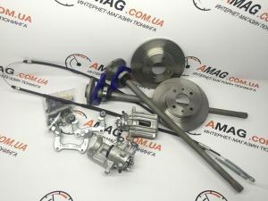 Купить Кит-комплект задних дисковых тормозов на ВАЗ 2101-07  (иносуппорт)