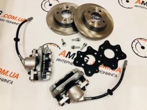 Купить Кит-комплект задних дисковых тормозов на ВАЗ 2108-09-099 (2108 суппорт)