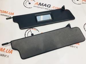 Купить Козырьки солнцезащитные с зеркалом ВАЗ 2121-21214 черные