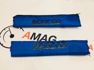 Купить Накладки на ремень тюнинг SPARCO (BLUE)