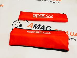 Купить Накладки на ремень тюнинг SPARCO (RED)