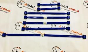 Купить Реактивные тяги ВАЗ с продольными регулируемыми SPORT на 2108 сайлентблоках