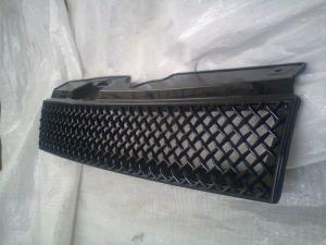 Купить Решетка радиатора тюнинг на ВАЗ 2110-12 (глянец) черная (аналог Маретти)