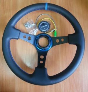 Купить Руль с выносом (реплика) VMS Blue