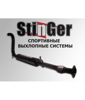 Средняя часть (резонатор) ВАЗ 2110-2112 Stinger