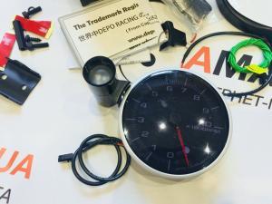 Купить Тахометр Depo Racing с шифт-лампой