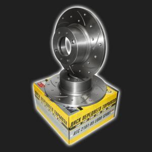 Купить Тормозные диски ВАЗ 2101-07 передние c канавками и насечками (АТС)