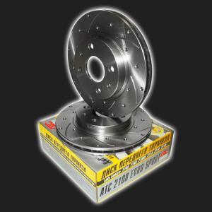 Купить Тормозные диски ВАЗ 2110-11-12 вентилируемые с перфорацией и канавками