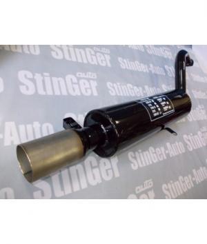 Задняя часть (глушитель) ВАЗ 2108-09 Stinger