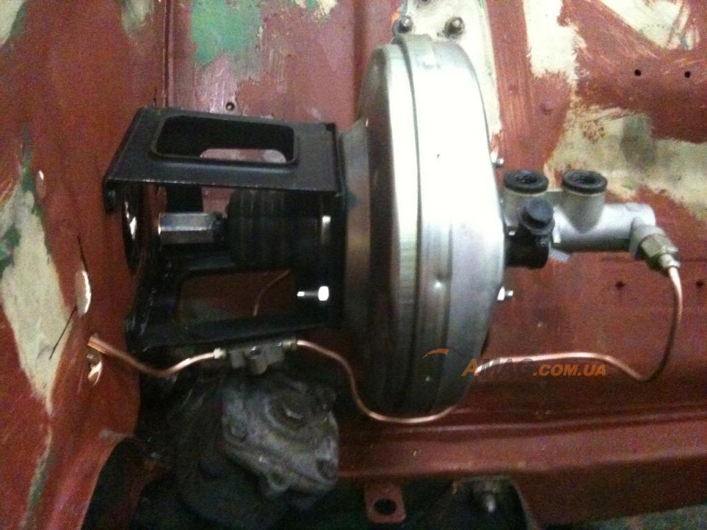 вакуумный усилитель тормозов в ваз 2101: